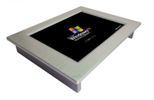 Fanless 10 inch mini industrial tablet panel pc with 1.86GHZ CPU wide screen monitor