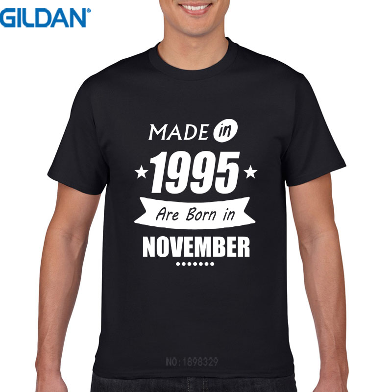 22nd Birthday Ideas In November: Cool Funny T Shirts Short Made In Are Born In November