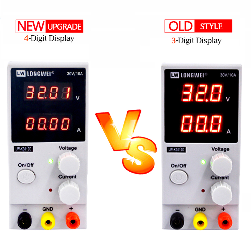 Image 2 - K3010D dc power supply 4 digit display repair Rework Adjustable power supplylad lad switch power 30V10A laboratory power supply-in Switching Power Supply from Home Improvement