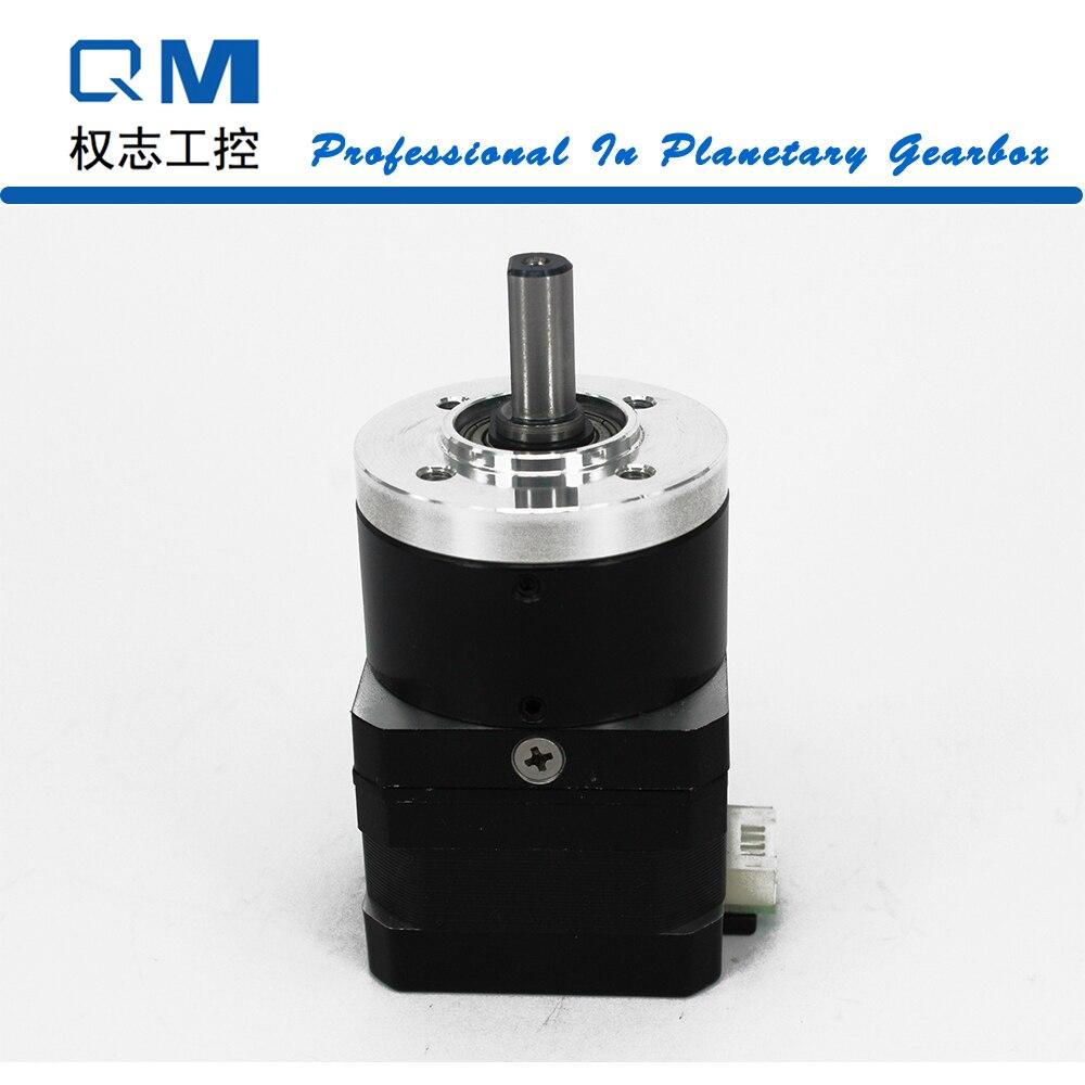 Motoréducteur Nema 17 réducteur planétaire rapport 3:1 15 Arcmin Nema 17 moteur pas à pas 26mm CNC robot pompe