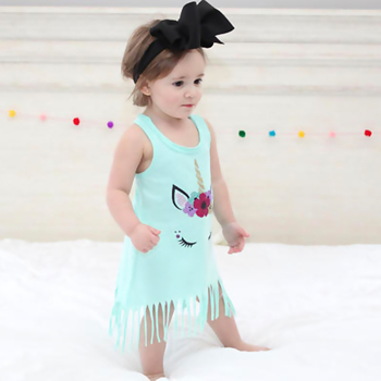 Unicorn Casual Knee-length Dress
