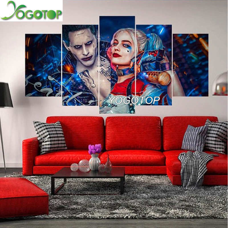 YOGOTOP DIY Diamond Painting Cross Stitch Kits Full Diamond Embroidery 5D Mosaic Home Decor mark the