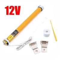 1 Set Automatic DIY Electric Roller Blind Shade Tubular Motor Kit DC 12V 30RPM Home Decor Blinds Shades