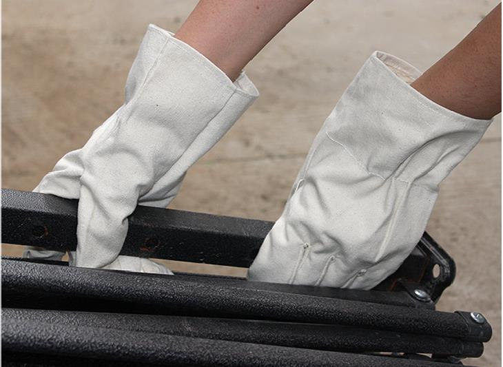 Pure Cotton Canvas Handling Welding Gloves Wear-resisting  Protective Work Gloves rf cushman cushman handling fidelity