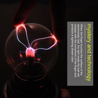 3 USB Plasma Ball Sphere Light Magic Crystal Lamp Desktop Globe Laptop