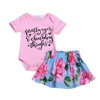 Европейский и американский стиль, летний Повседневный хлопковый комбинезон с короткими рукавами и буквенным принтом для маленьких девочек