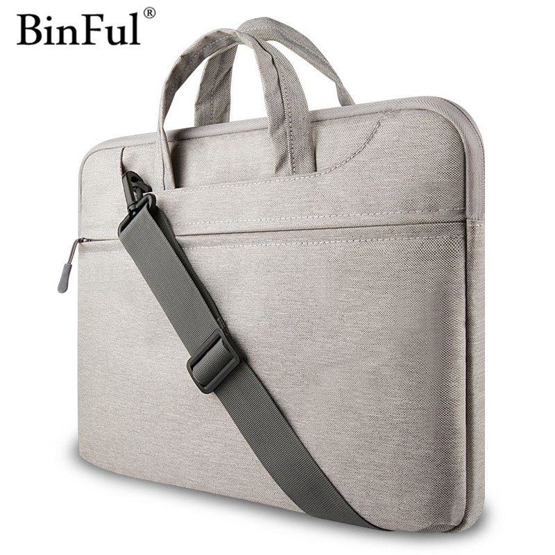 Binful Laptop waterproof Bags Sleeve Notebook Case for Lenovo Macbook air 11 12 13 14 15 15.6 inch Cover Retina Pro 13.3