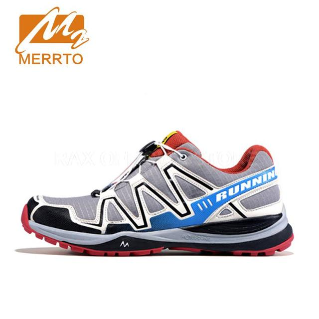 Merrto Outdoor Running Shoes For Men Professional Trail Running Sneakers Women Breathable Mesh Sport Shoes Men Chaussure Hombre