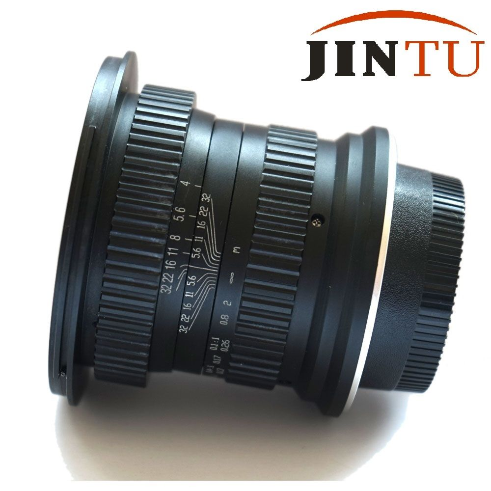 JINTU 15mm f/4.0 F4 Wide Angle Macro Fisheye Lens For Canon EF DSLR FULL Frame APS-C Camera 2
