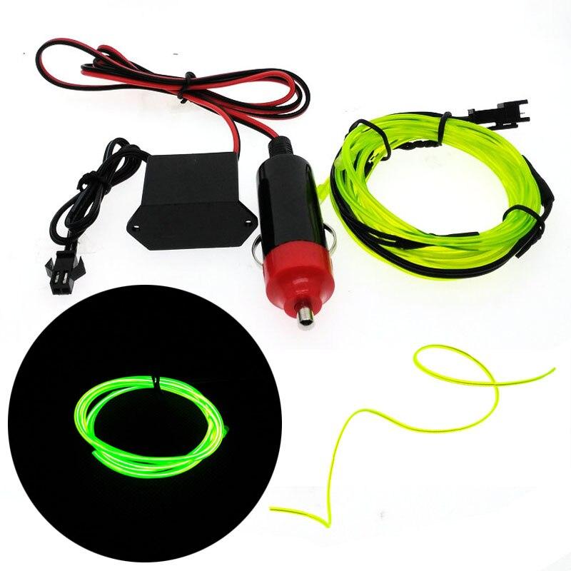 Avtomobil EL Wrie Siqaret yüngül plitə Neon yüngül avtomobil - LED işıqlandırma - Fotoqrafiya 3
