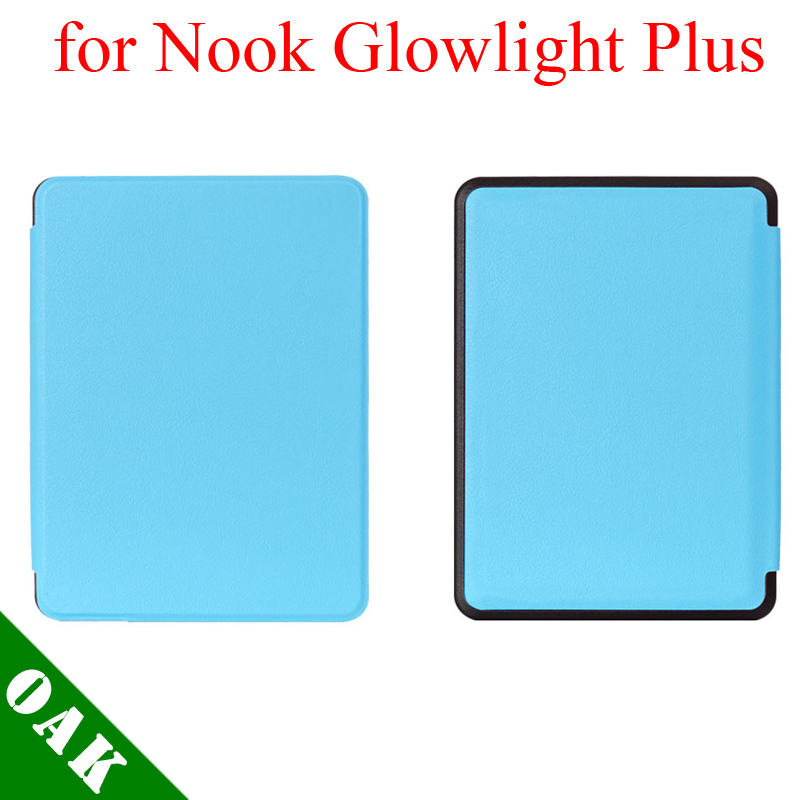 [Free Shipping] Kasite Heat Press PU Leather Case for Nook Glowlight Plus 6'' eBook Reader High Quality