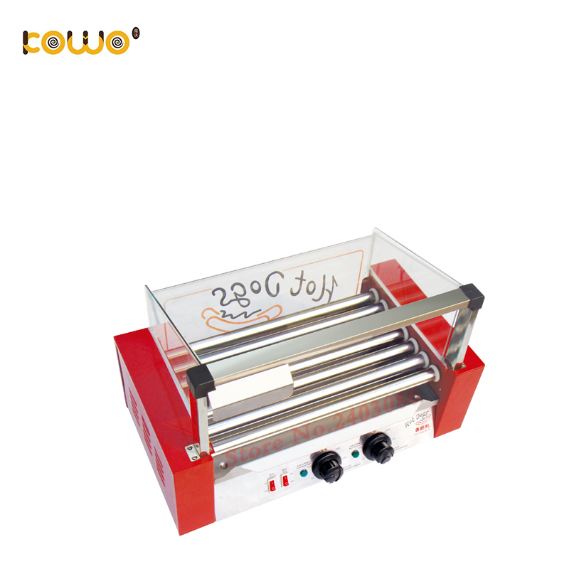 7 Rollers commercial automatic electric Hot Dog roller grill Machine7 Rollers commercial automatic electric Hot Dog roller grill Machine