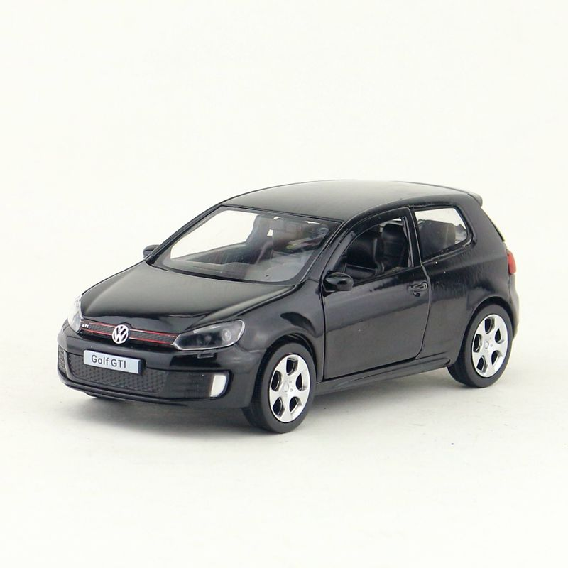 RMZ City/1:36 Scale Diecast Model/Volkswagen Golf GTI SUV Sport/Educational Collection/Pull Back Toy Car/Gift For Children