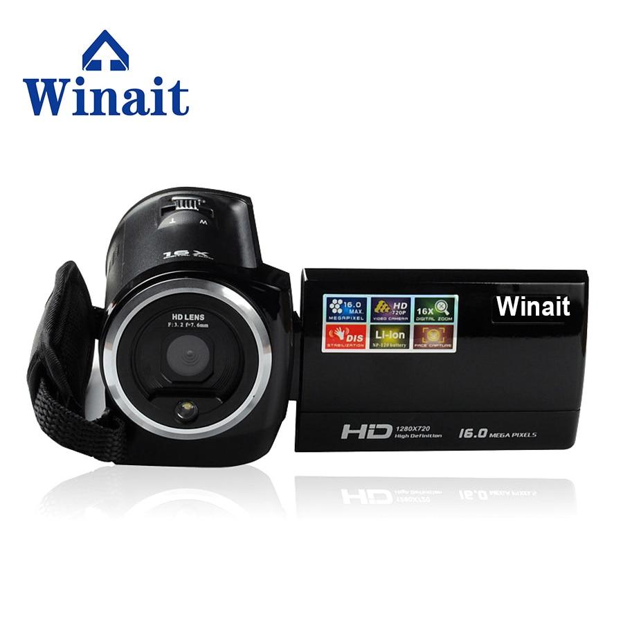 Winait Livraison Gratuite 16 Mp Max 720 P HD 16 X Zoom Numérique Caméra Vidéo Numérique Caméscopes avec 2.7