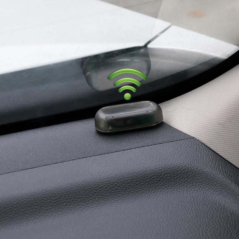 Universal Car Fake Solar Power Alarm Lamp Security System Warning Theft Flash Blinking Anti Theft Caution LED warning lights Tire Pressure Alarm     - title=