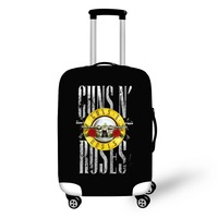 Luggage Protective Covers For Trolley Suitcase Gun N Rose Elastic Protective Cover For 18 28 Inch