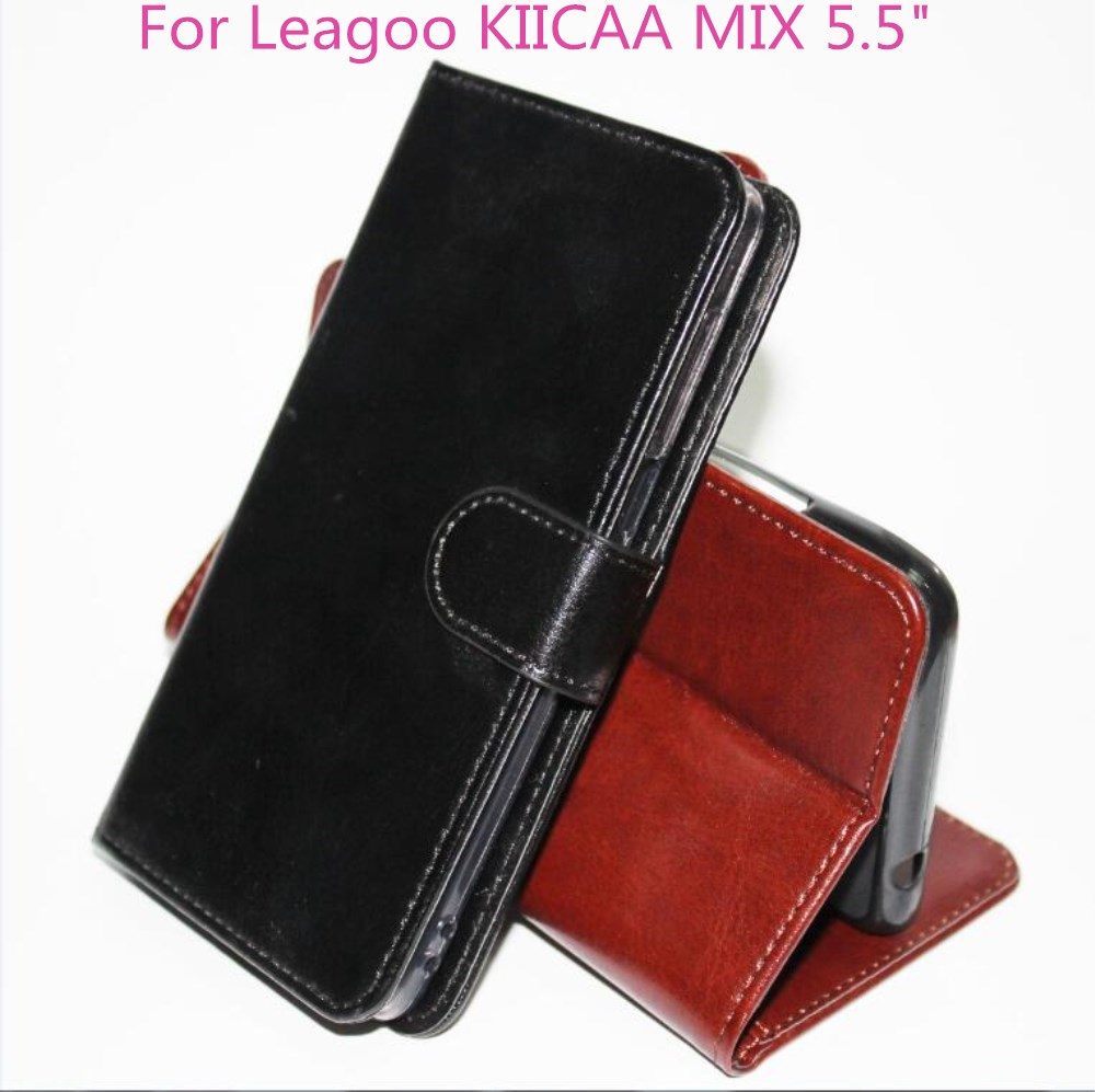 "For Leagoo KIICAA MIX Case Luxury PU Leather Cover For Leagoo KIICAA MIX 5.5"" Flip Wallet Phone cases Coque Fundas capa"