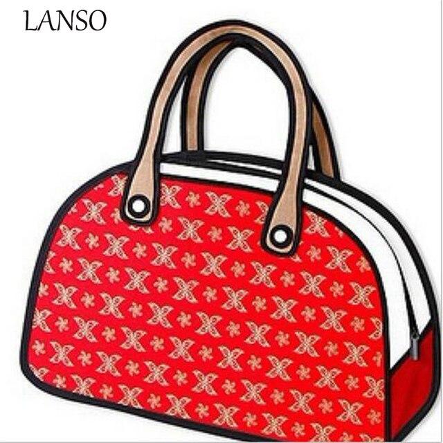 Fashion D Bags Gents Lady Novelty Messenger Bag Unique Cartoon D - Cartoon handbags