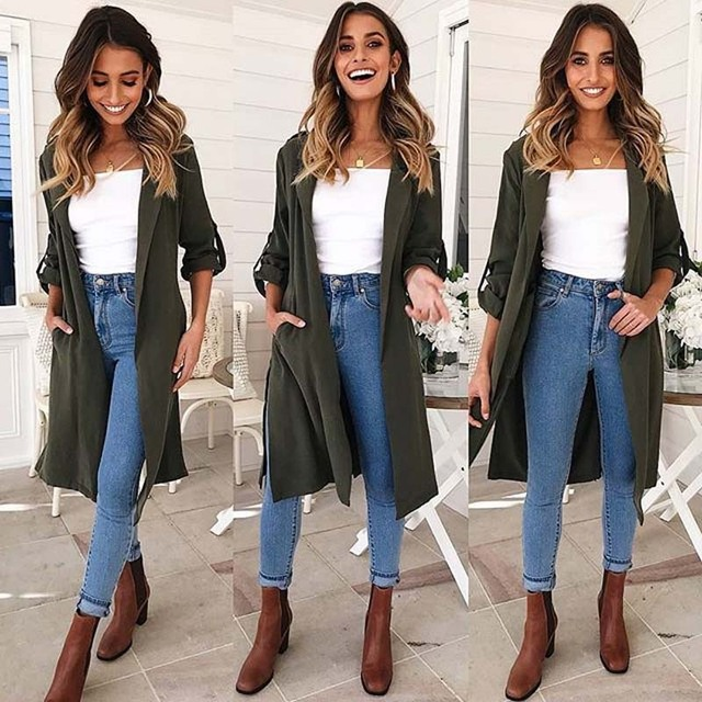 Fashion style Fashion fall trends casual photo for woman