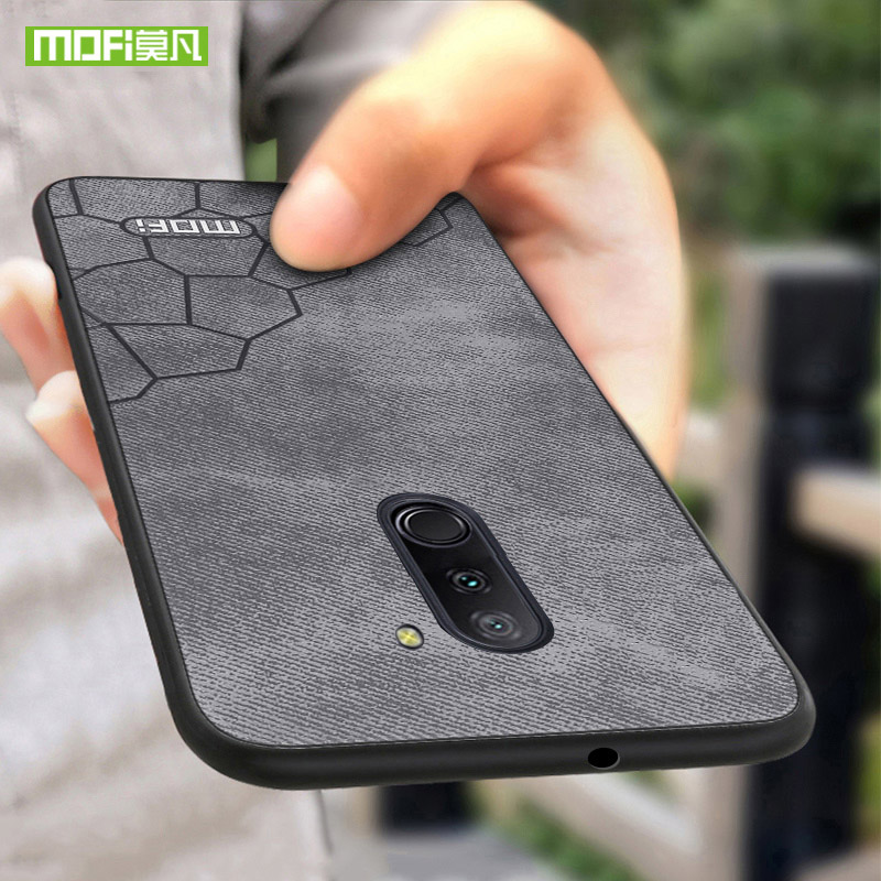 Original For Xiaomi pocophone f1 case for xiaomi poco f1 case leather Mofi for xiaomi pocophone f1 cover silicone cover 6.18