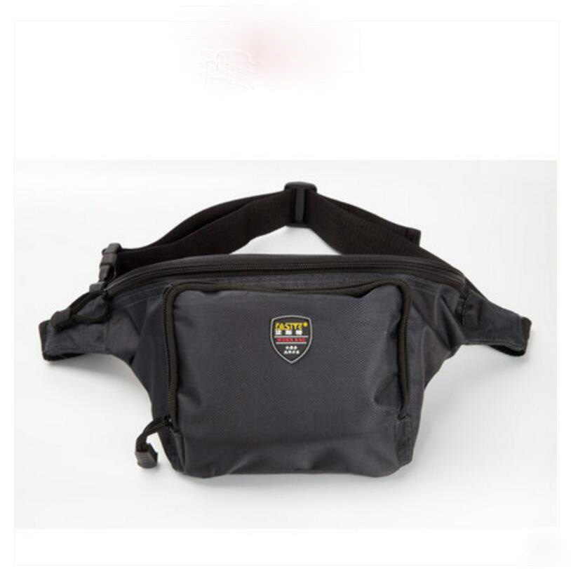 FASITE Tool Bag Professional Electricians Tool Pouch Waist Bag X503 Black