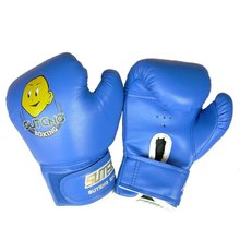 e01e6426d A partir de EUA Transporte Treinamento Punhos PU Durável Luvas de Boxe  Sparring Kick Luta Luvas Luvas De Boxe De Couro Dos Desen.
