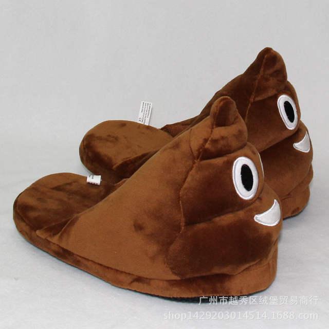 066608cdda2 placeholder Emoji Slippers Soft Plush Slippers Chinelos Pantufas Indoor