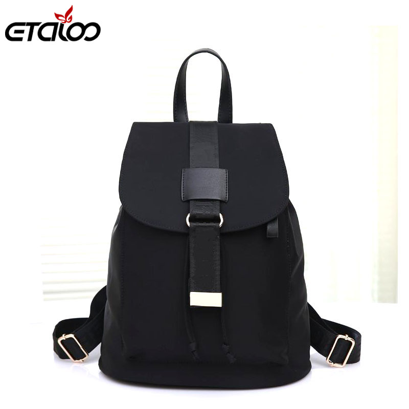 2017 New Korean Oxford Cloth Bags Leisure Travel Bag Backpack