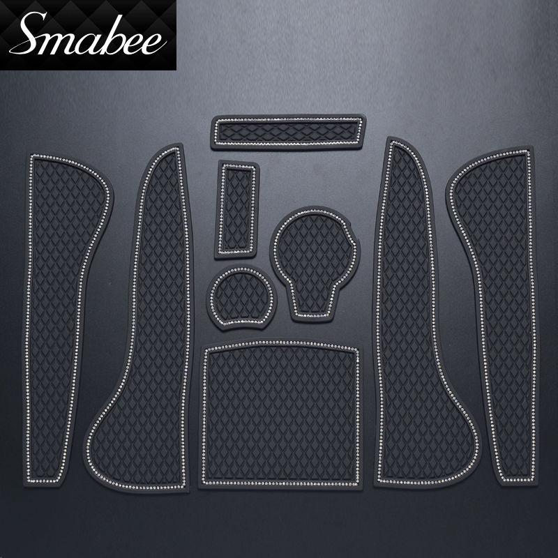 Smabee Gate Slot Pad Para audi A3 Accesorios, Tapetes - Accesorios de interior de coche - foto 5