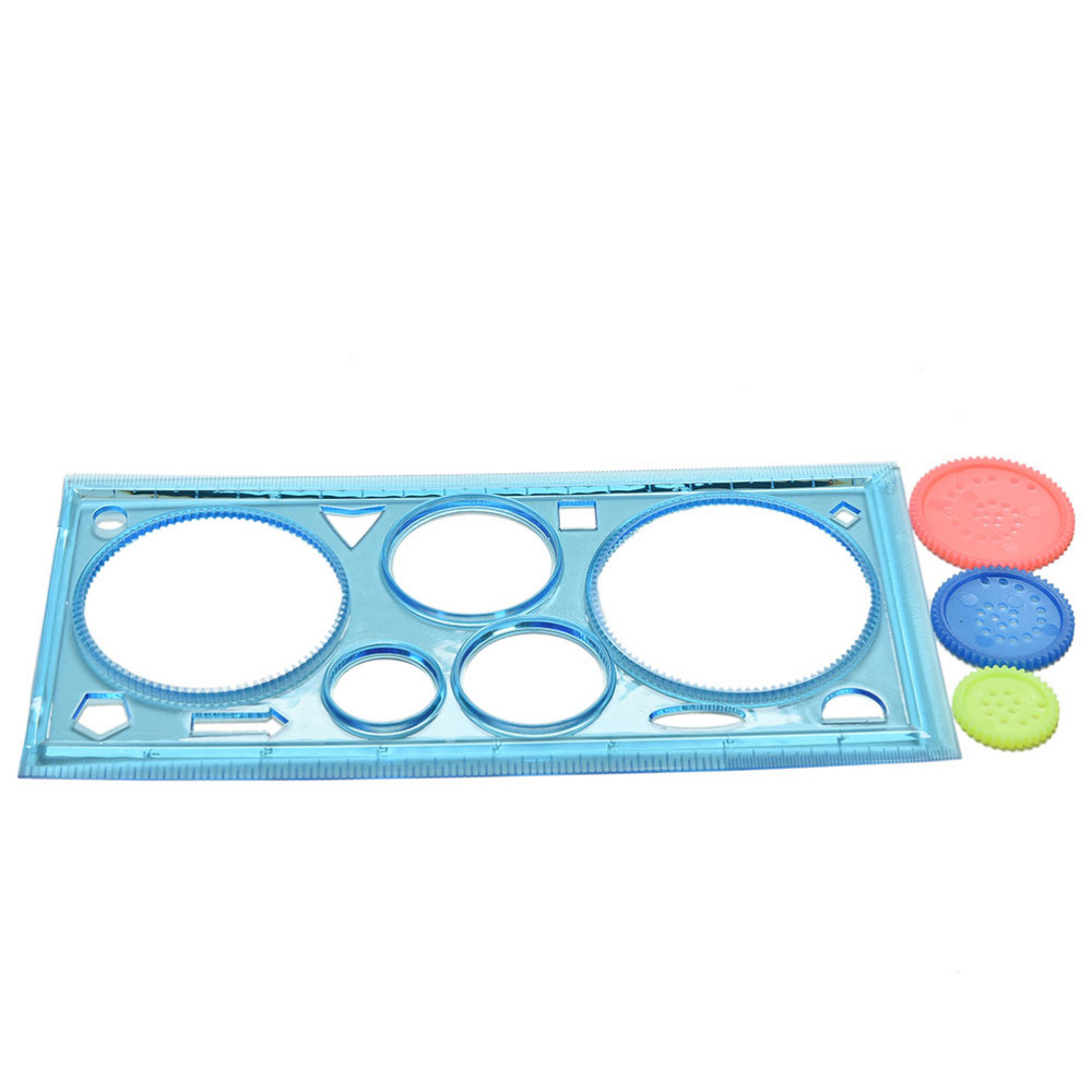 Well-Educated Painting Multi-function Puzzle Spirograph Geometric Ruler Drafting Tools For Students Drawing Toys Children Learning Art Tool Clients First Drafting Supplies