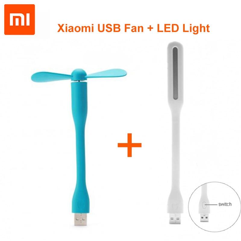 Newest 100% Original XiaoMi Mijia mini Fan +Flexible Portable USB fan For Pover Bank Laptop Computer fast shiping
