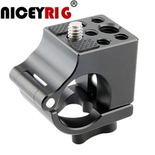 """NICEYRIG 25mm Rod Clamp for Dji Ronin M / Ronin MX Gimbal Stabilizer with 3/8"""" 1/4"""" Thread Hole Adjustable Quick Release Adapter"""