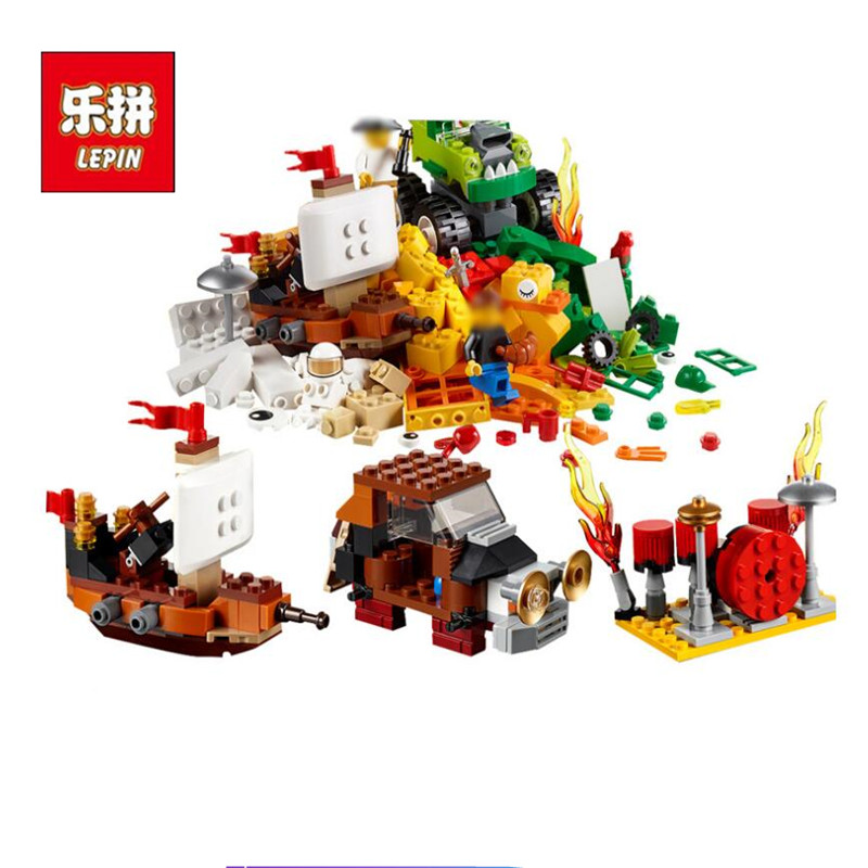Lepin 42016 976pcs Classic Creator Building Blocks Mission To Mars Model Bricks Kids Education Toys Gift Compatible With 10405 lepin 22001 pirate ship imperial warships model building block briks toys gift 1717pcs compatible legoed 10210