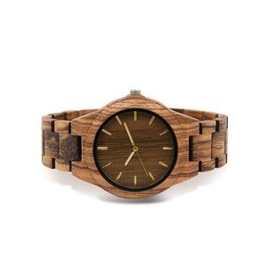 Image 3 - wooden watch male gents watches clok men relogio masculino luxury men brand FOR mens souvenir relogio watch