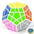 Nova Marca de Alta quantidade Shengshou Megaminx Dodecaedro magic Cube especial Magic0 Cubes Puzzles Toy Torção Quadrado Cubo