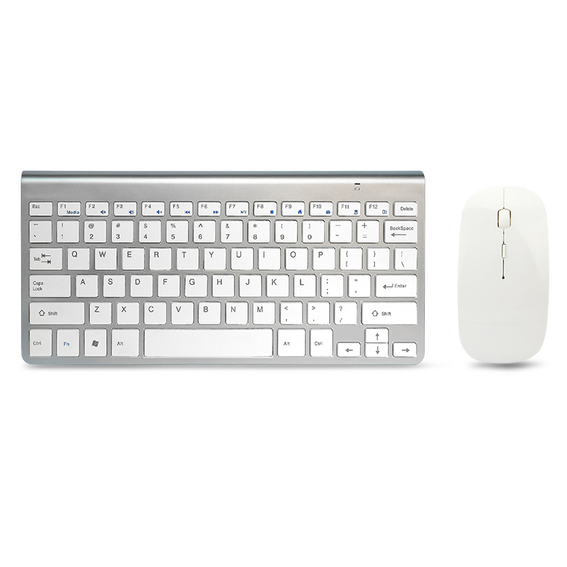 52d09aaf0bf 2.4G Ultra Thin Silent Wireless Keyboard Mouse Combos Wireless Teclado  Combo for Apple Style Mac Pc WindowsXP/7/8/10 Tv Box-in Keyboard Mouse  Combos from ...