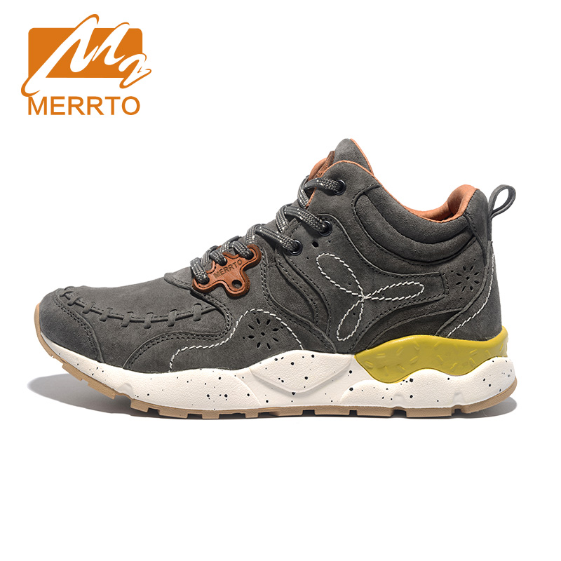 ФОТО MERRTO Breathable Women Walking Shoes Lightweight Comfortable Brand Trainers Skid-proof Sneakers #MT18627