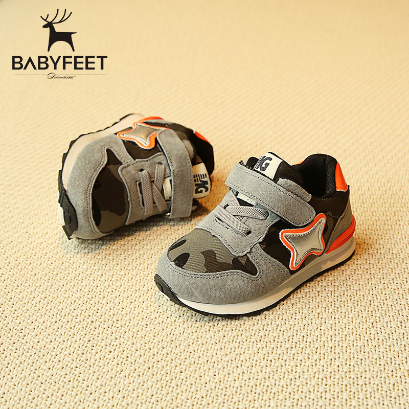 2017 Babyfeet brand design tenis casual shoes children sport toddle sneakers for infant little child baby kids boys and girls babyfeet 2017 winter children shoes fashion warm suede leather sport running school tenis girl infant boys sneakers flat loafers