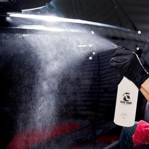 Image 2 - 1Pc Professionele 1000 Ml Ultra Fijne Water Mist Cilindrische Spray Fles Hdpe Chemische Slip Spuit Voor Qd Vloeibare auto Detail
