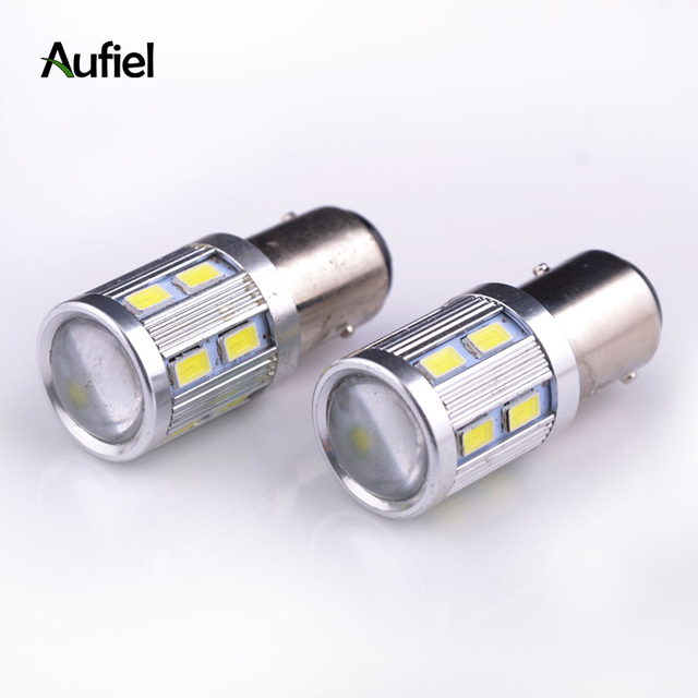 2x 1157 P21 5w 4w Bay15d Led Lampada Car Brake Light Backup Turn Signal Tail Warning Bulb Reverse Lamp Strobe Blink Solid
