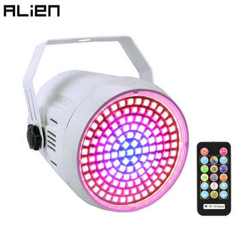 ALIEN DMX Sound Disco Colorful Strobe Stage Lighting Effect 127 LED RGB DJ Bar Holiday Party Christmas Light With Remote Control - DISCOUNT ITEM  0% OFF All Category