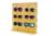 Original de Bambu Óculos De Madeira Prateleira de Exposição Racks Para 5 Óculos de Moda óculos de Sol Removível Balcão da Loja de Exibição Estande DS003