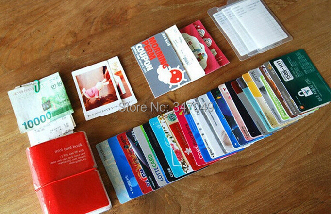 Classable pvc mini card book 32 sheets business card credit card classable pvc mini card book 32 sheets business card credit card holder cash wallet coupon organizer bag free shipping in card id holders from reheart Images