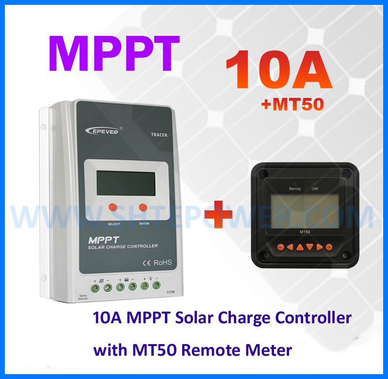 EPsolar Tracer1210A 10a ce rohs solar charge controller mppt 12v 24v auto work with MT50 Remote meter epsolar tracer mppt 20a 2215bn solar charge controller solar tracker controller for renewable energy system