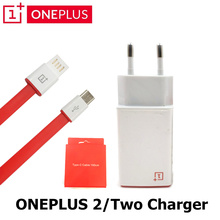 Original ONEPLUS 2 Charger For one plus 2 EU US 5V 2A usb wall travel charging adapter + type-c data charge cable
