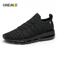 ONEMIX slip Free Knit men air running sneakers outdoor jogging shoes light cool outdoor sneakers for walking big size 36 47