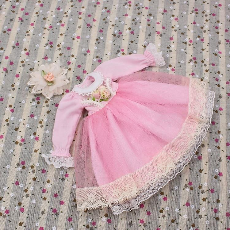 Neo Blythe Doll Lace Flower Dress 9