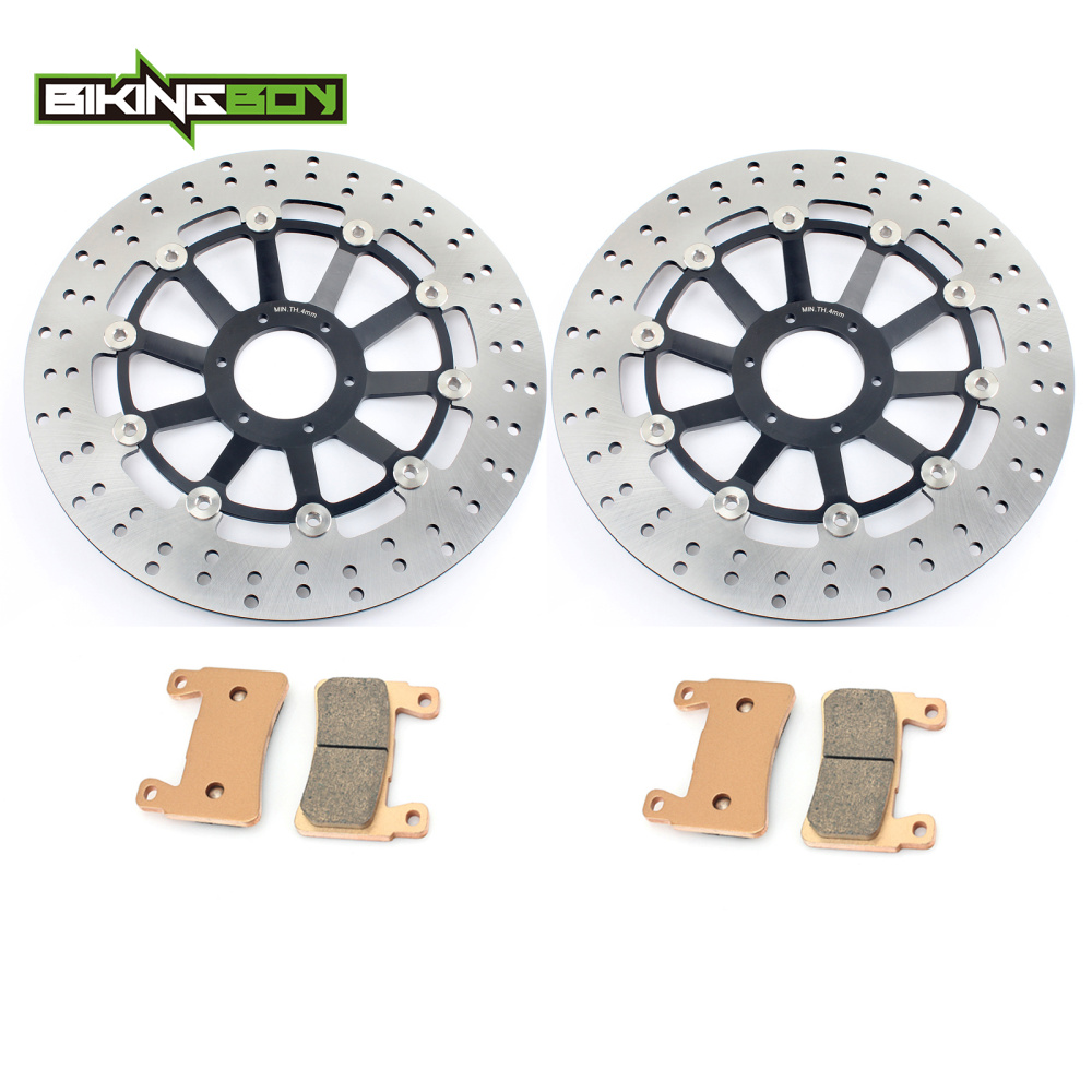 BIKINGBOY For Honda CBR 900 RR CBR900RR Fireblade /Japan 1998 1999 98 99 Floating Full Set Front Brake Discs Disks Rotors Pads