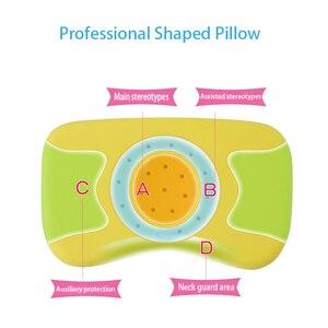 Image 3 - Подушка для ухода за ребенком, подушка для сна для детей, подушка для шеи кролика, позиционер для сна для младенцев, антироликовая подушка, плоская подушка для головы