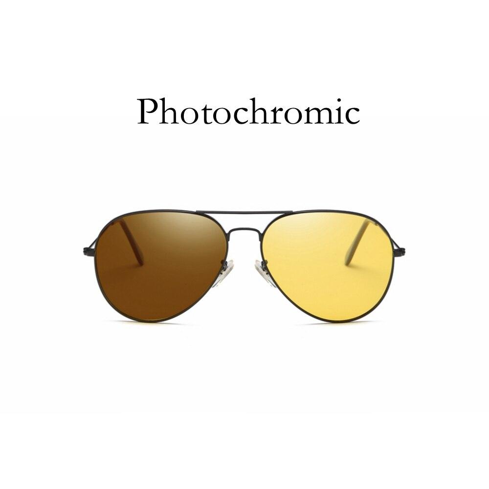 TAC Polarized Photochromic Pilot Sunglasses Night Vision Driver Rider Goggle Chameleon Change color  Men Women Glasses 1